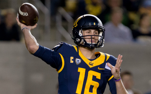 Goff has the combination of skills necessary to succeed at the next level. (USATSI)