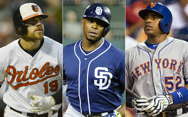 Where will free agency's best remaining hitters end up? (USATSI)