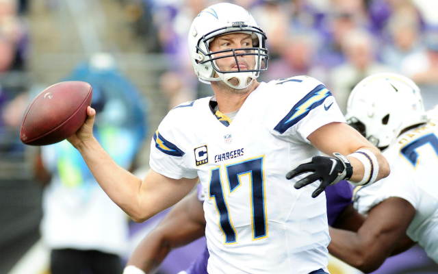 It'll be on Philip Rivers to make plays for the Chargers. (USATSI)