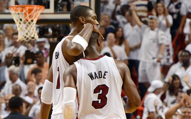 Bosh and Wade will play Game 1.   (USATSI)