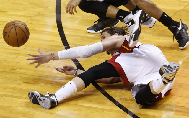 Miller and the Heat just couldn't take care of the ball. (USATSI)