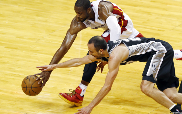 The Heat were a step faster to the ball in the first half of Game 2.   (USATSI)