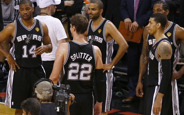 Parker and the Spurs didn't have any answers during the big run. (USATSI)