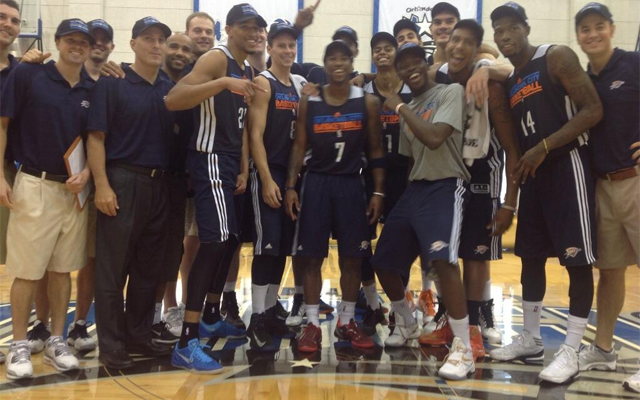 The Thunder are your 2013 Orlando Summer League champions. (Darnell Mayberry)