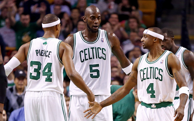 Garnett, Pierce, and Terry will all play for the Nets this year. (USATSI)