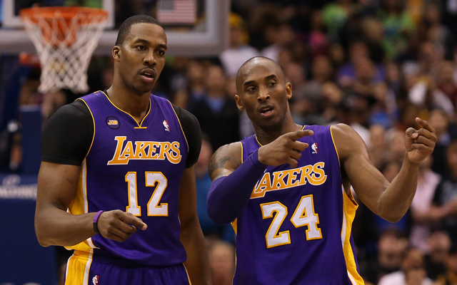 Howard said it was tough playing with Kobe but they had moments. (USATSI)