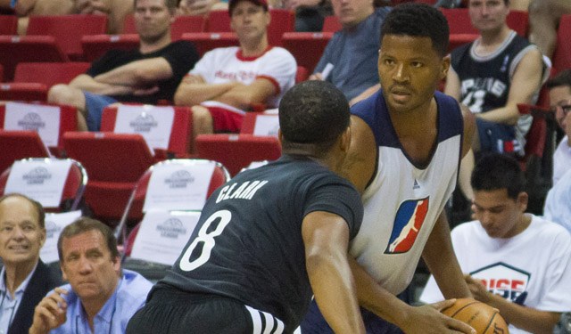 Stefhon Hannah is the reason the Las Vegas Summer League exists. (Jeremy Rincon, @jermcon)