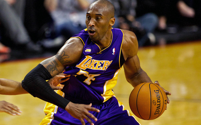 Kobe Bryant believes he has three more years at a high level. Believe him? (USATSI)