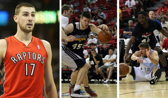 Valanciunas, Cooley, and Harangody will all be rewarded for their summer. (USATSI)