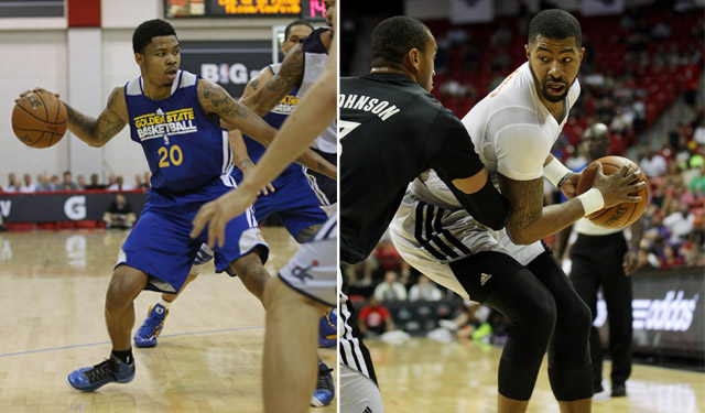 Bazemore and Morris will battle it out for the Summer League title. (USATSI)