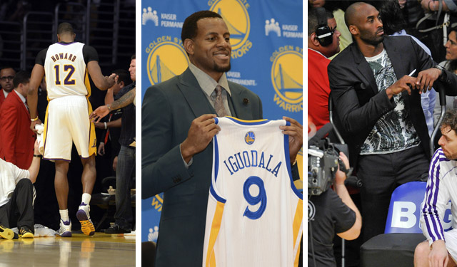Howard, Iguodala, and Bryant will all have new adjustments this year. (USATSI)