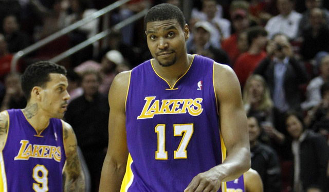 Bynum may have just taken a shot from downtown at Lakers fans. (USATSI)