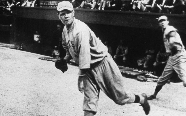 Babe Ruth's historic career started as a pitcher with the Red Sox on July 11, 1914.