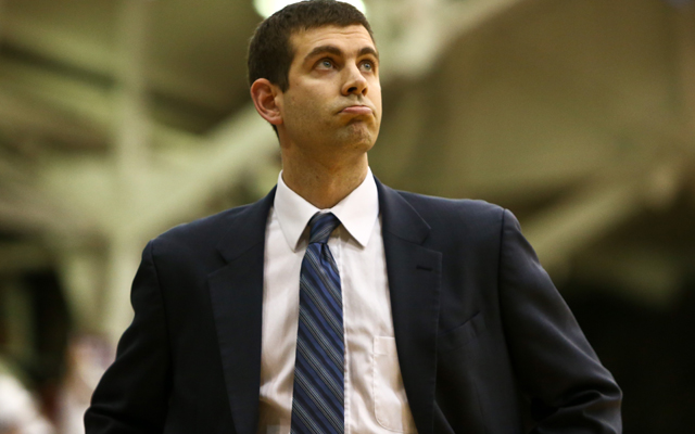 Hiring Brad Stevens is a shrewd move by the Celtics.   (USATSI)