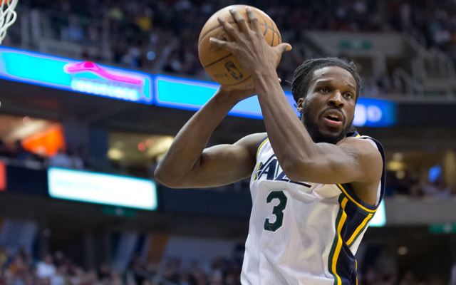 DeMarre Carroll joins the Hawks.    (USATSI)