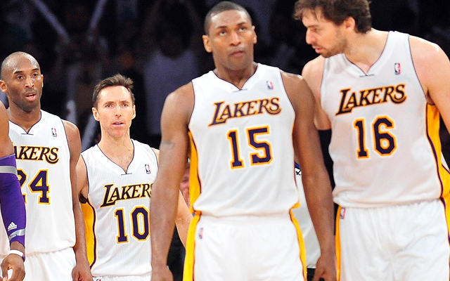 The Lakers face an uncertain future wthout Dwight Howard.    (USATSI)