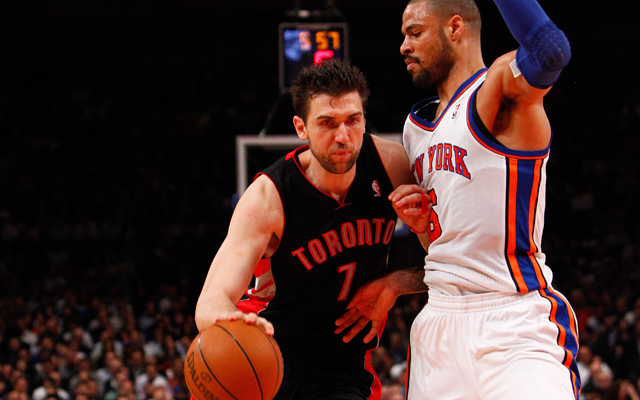 Andrea Bargnani joins the Knicks.     (USATSI)