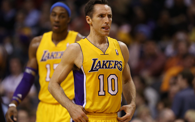 Steve Nash says he's close to being healthy.  (USATSI)