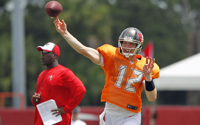 Josh McCown started five games last season and threw 13 TD passes with a 109.0 passer rating. (USATSI)
