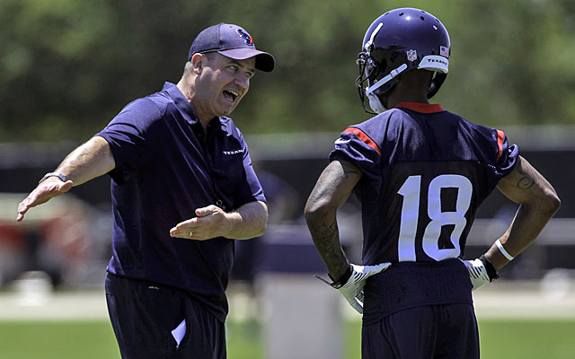 Things in Houston are definitely more rigid under new coach Bill O'Brien these days.  (USATSI)