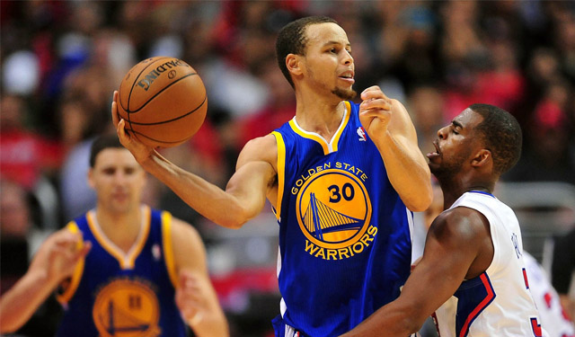 We may be capping off Christmas Day with Curry and Paul. (USATSI)