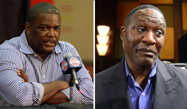 Joe Dumars and Dominique Wilkins will join us on our journey. (USATSI)