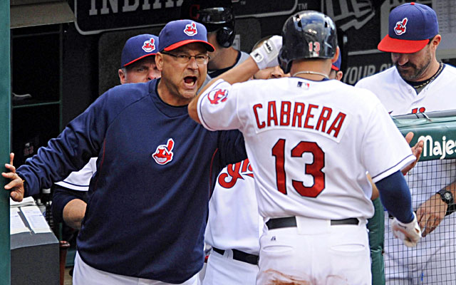 Terry Francona has the energized Indians eyeing an AL wild-card spot. (USATSI)