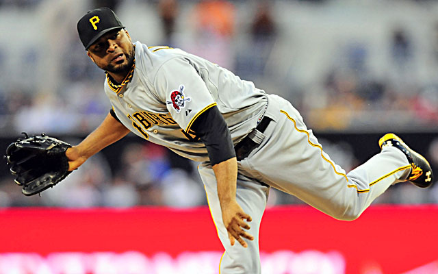Francisco Liriano strikes out a season-high 13 and ties his career-high with his 14th win. (USATSI)