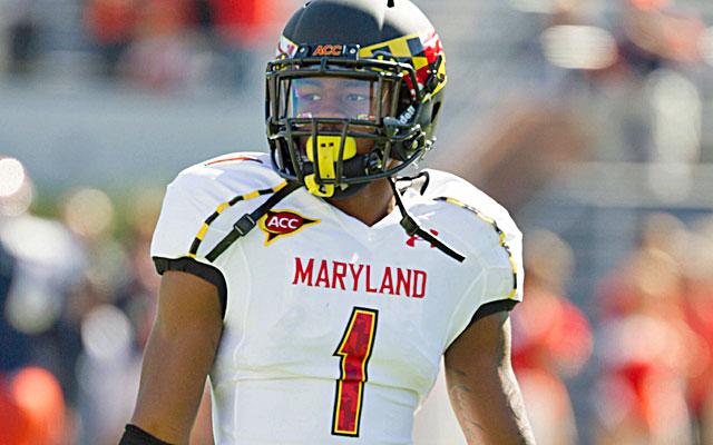 If the Terps can get him the ball Stefon Diggs is one of the most dynamic athletes in the game. (USATSI)