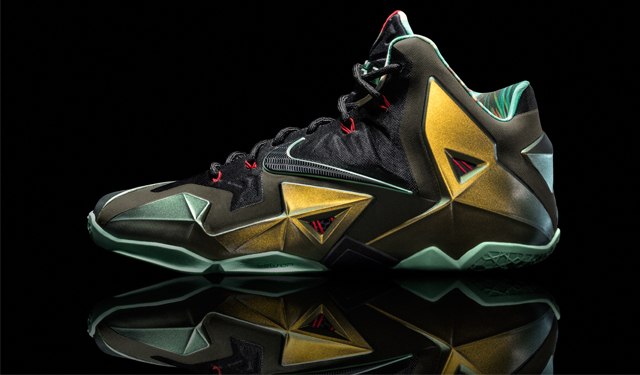 The LEBRON 11 from Nike looks like the revolution or something. (Nike,INC)