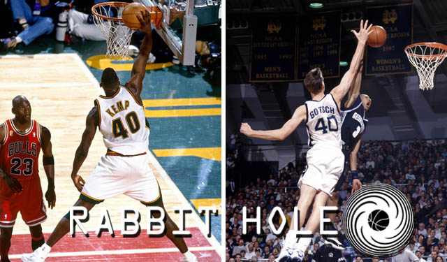 Shawn Kemp Dunks To Time Travel Journey Down The Rabbit Hole