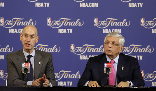 Will Adam Silver try to negotiate a hard cap into the next CBA? (USATSI)