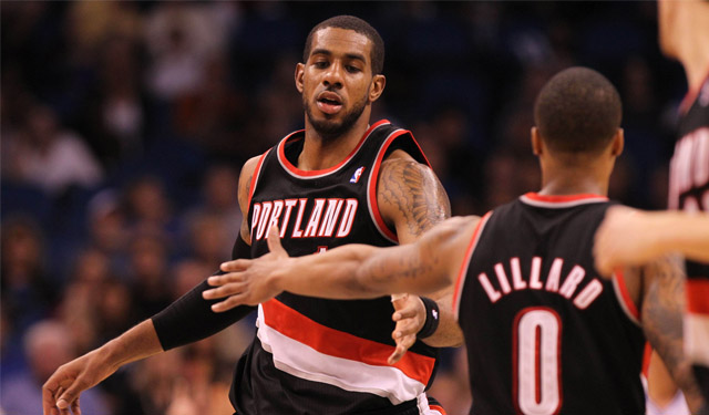 LaMarcus Aldridge and Damian Lillard are the new faces of the Blazers.    (USATSI)