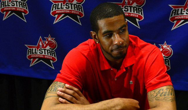 Aldridge is apparently happy with the Blazers and doesn't want a trade. (USATSI)
