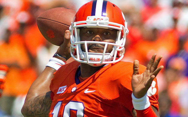 Tajh Boyd and Clemson lead the resurgent ACC in this week's Power Poll. (USATSI)