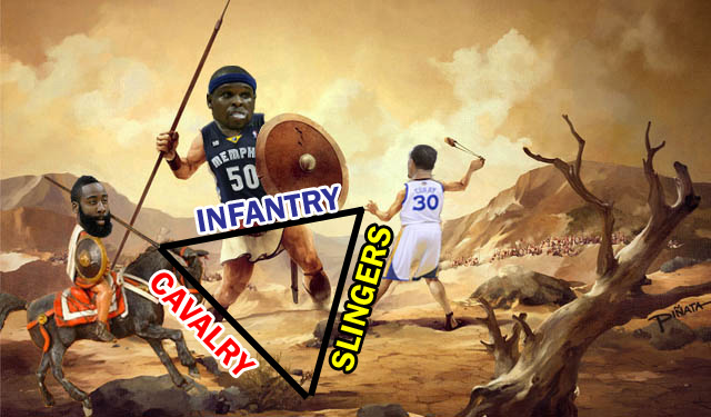 Infantry vs. Cavalry vs. Slingers in today's NBA. (Eye on Basketball)