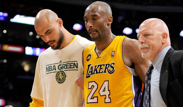 We still don't know when Kobe will be back on the court. (USATSI)