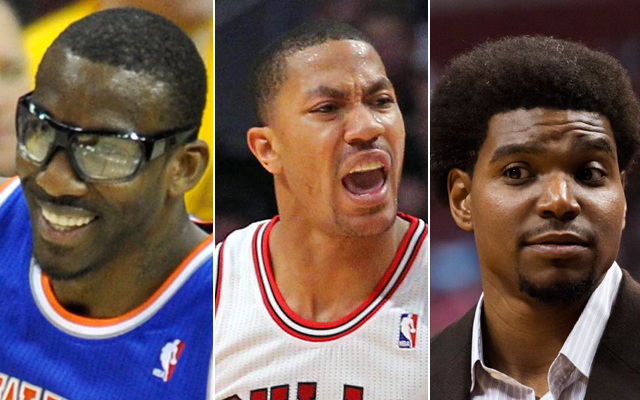 Stoudemire, Rose, and Bynum will all have different battles in training camp. (USATSI)