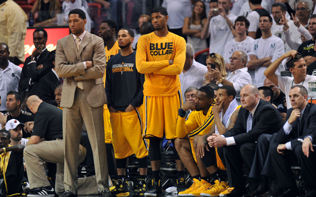The Pacers don't want to feel like this in a Game 7 next year. (USATSI)