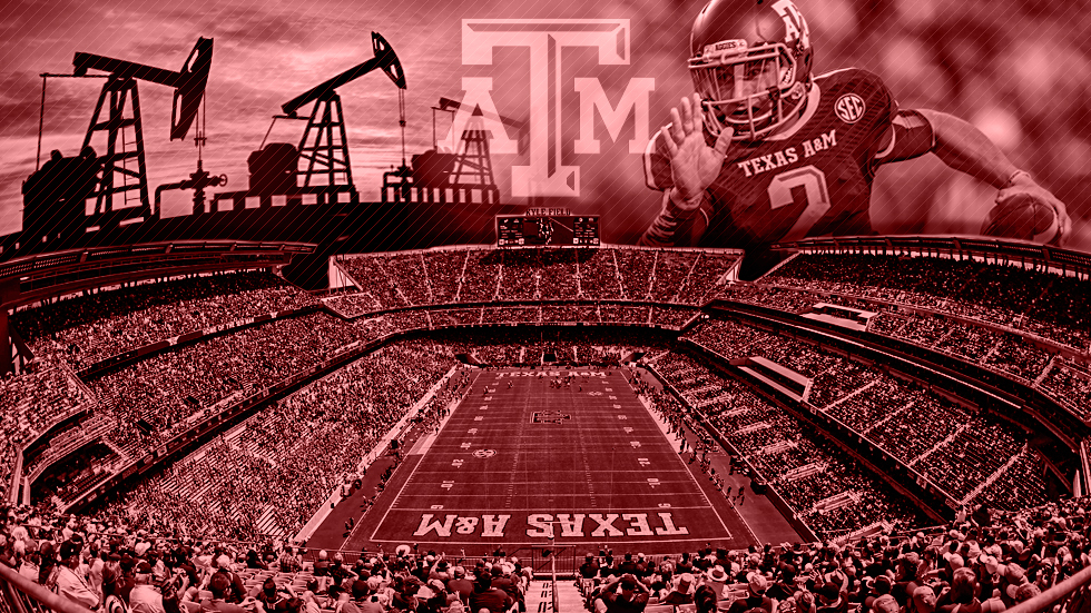 af04fd826ae How Johnny Football and  100 barrels of oil fueled Texas A M to create a  college football cathedral.