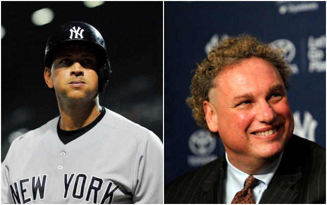 A-Rod and Randy Levine have been … talking. (USATSI)