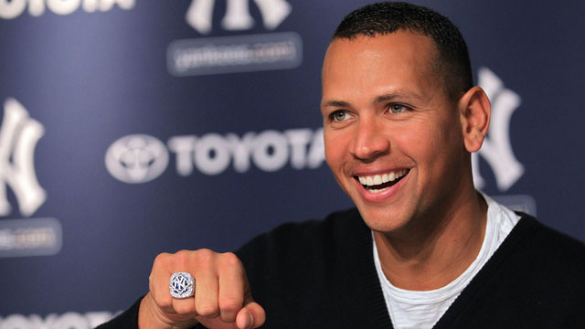 A-Rod won his World Series ring with the 2009 Yankees. (Getty Images)