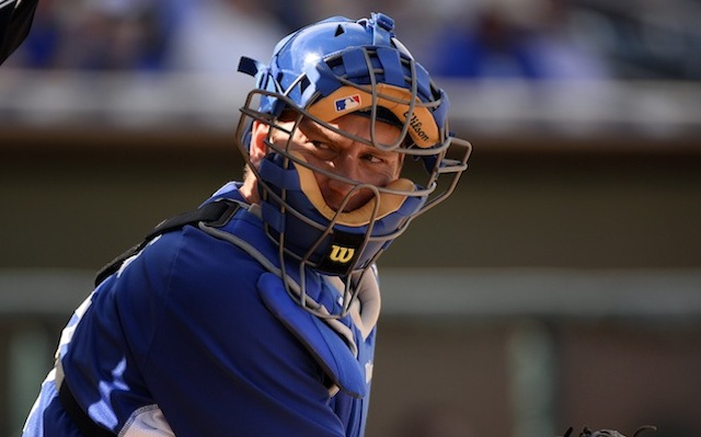 The Dodgers will be without their primary man behind the mask for a while. (USATSI)