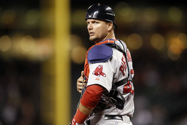 The Red Sox are cutting bait on veteran catcher A.J. Pierzynski. (USATSI)