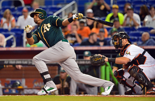 Is Yoenis Cespedes headed for the Midsummer Classic? (USATSI)