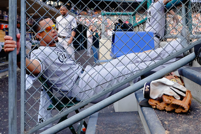 Jose Abreu can probably relax when it comes to winning AL Rookie of the Year. (USATSI)