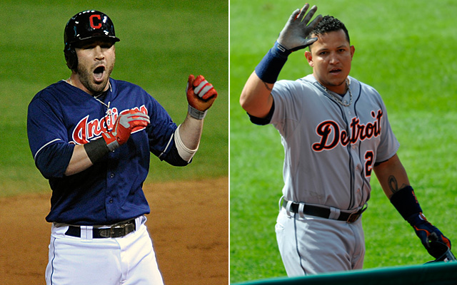 Jason Kipnis and Miguel Cabrera headline a strong AL Central lineup. (USATSI)
