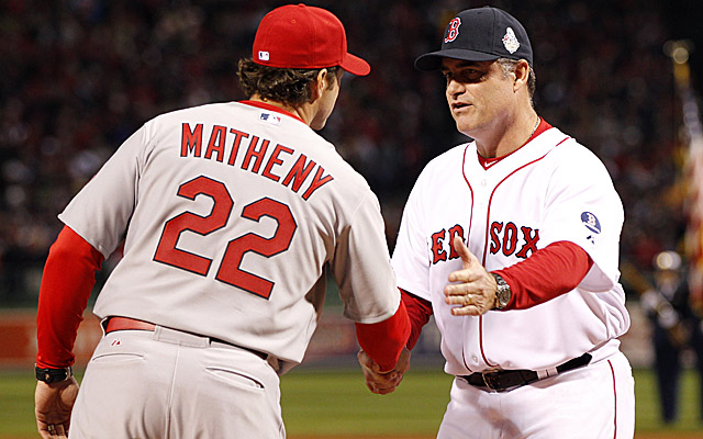 Mike Matheny and John Farrell will meet again in the All-Star Game.