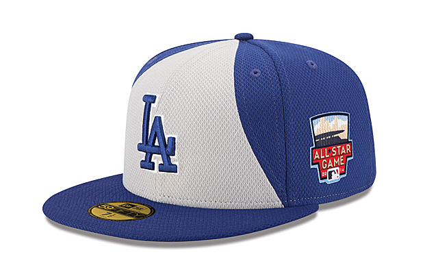 Here's the Dodgers' version of the All-Star cap for this season.