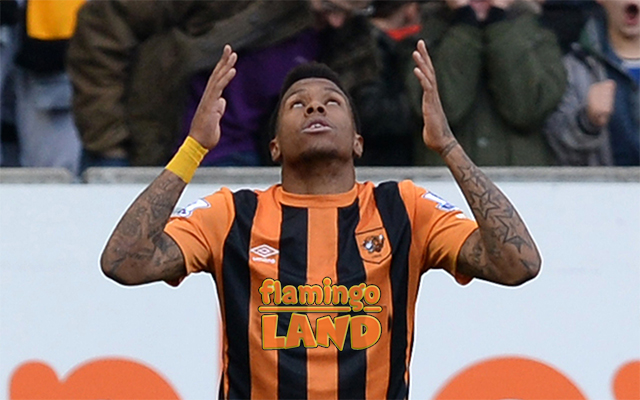 Abel Hernandez likely praying to the Soccer Gods for a better shirt  sponsor. (Getty Images CBSSports.com original). Not all sponsors can ... a76b4812b